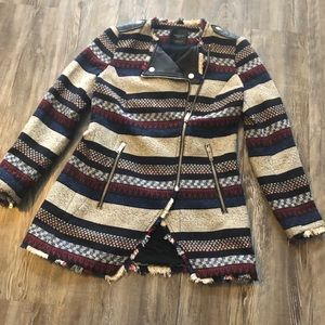 Zara Aztec Blazer size Small